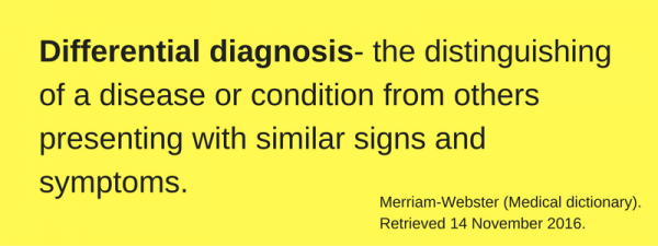 differential-diagnosis-definition